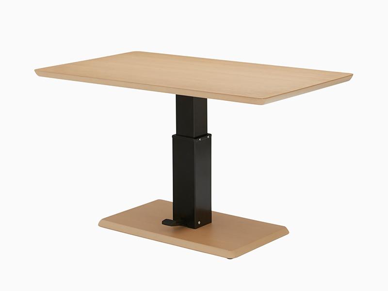 昇降式テーブル「フィット」Cタイプ(長方形)ハイタイプ