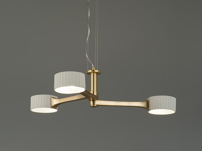 シャンデリア「PED-1733/3」約3~4.5畳用 ランプ別売