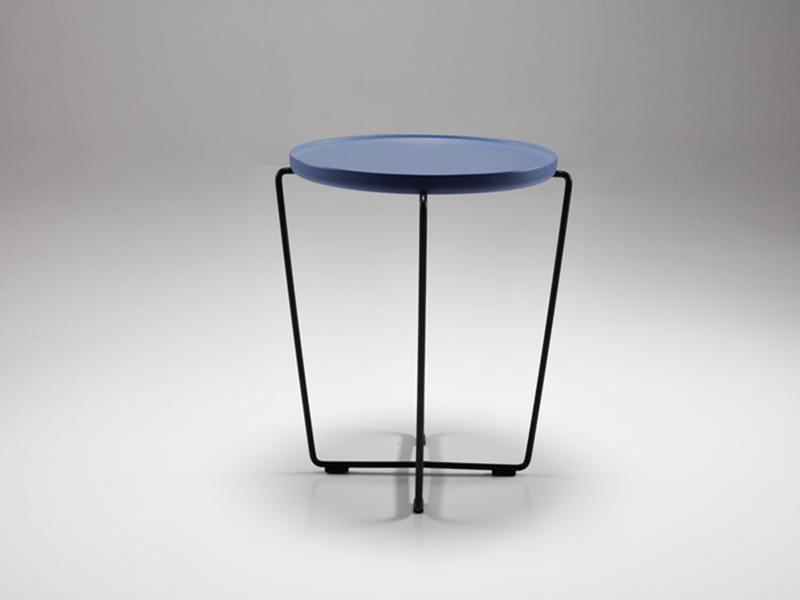 オケージョナルテーブル「ケージ」ブルー色