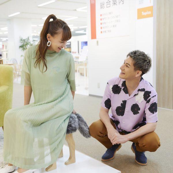 JOYさんとわたなべ麻衣さんの『LIFEinTERIOR』は家族の夢が広がる家具 vol.4